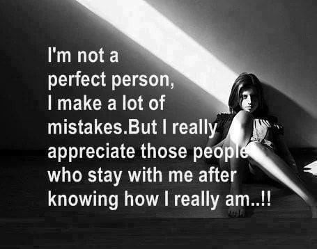 i am not perfect person whatsapp sad dp