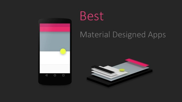 material-designed-android-apps