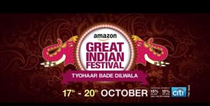 Amazon Diwali Dhamaka Sale 2016 Offers, Sale, 80% Discount This Time
