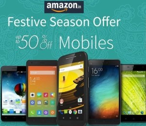 Amazon Diwali Sale 2016 Dates October 17-20 Smartphones Offers, Deals and Discounts