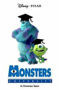 Monsters University by Pixar