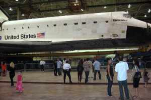 Endeavour - side view - all that nerdy stuff