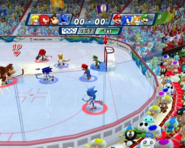 mario and sonic winter olympic games 2014 - all that nerdy stuff