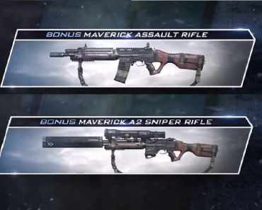 Call of Duty Ghosts Maverick Sniper