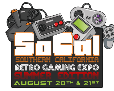 socal retro gaming expo logo
