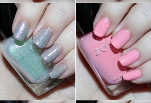 Swatches & review of the Zoya Petals Collection including the shades Leia, Aster, Zahara, Laurel, Azalea, & Tulip. See more beauty, nail, tutorial, & glam posts on All Things Beautiful XO
