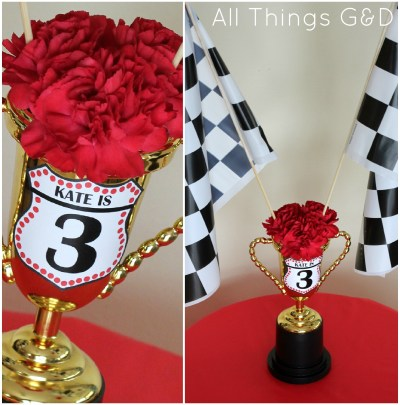 Cars Themed Birthday Party, Piston Cup, party planning, children's birthday party
