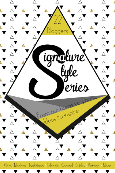 Join 22 bloggers from around the country for a look at our #SignatureStyle!