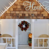 Indoor Playhouse Reveal!