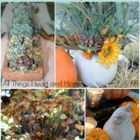 8 Five Minute Fall Centerpieces!