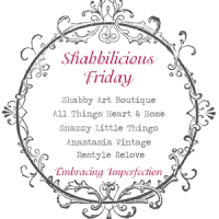 Vintage Inspired Projects & Shabbilicious Link Up!