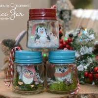 Tiny Jar Christmas Ornament-5 Minutes!