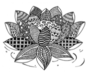Shop Icon Lotus drawing