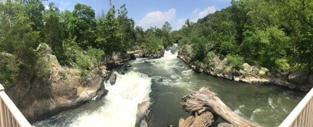 Great Falls. Such a view!