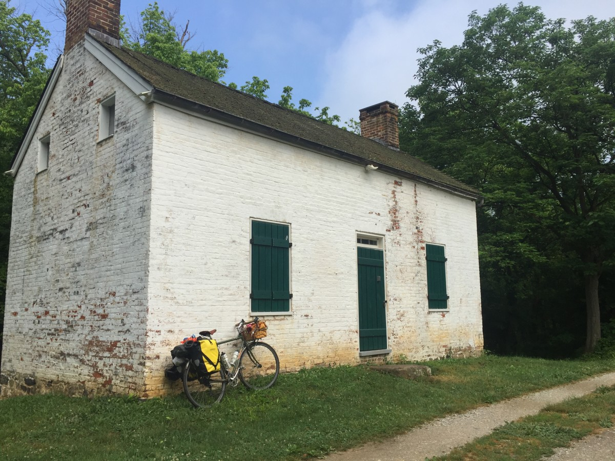 Bike Camping on C&O Canal