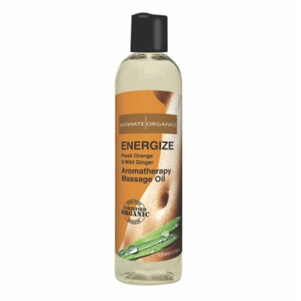 Energizing Orange & Wild Ginger Massage Oil