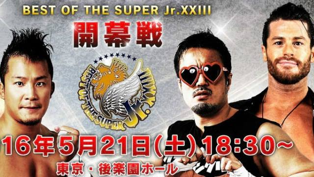 Watch NJPW Best of the Super Juniors XXIII 5/19/2016 Full Show Online Free