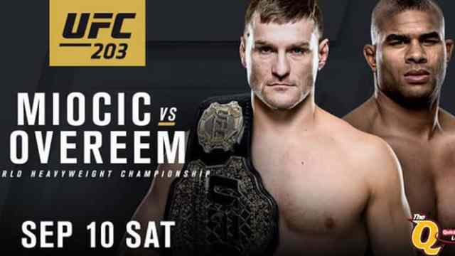 Watch UFC 203: Miocic vs. Overeem 9/10/2016 Full Show Online Free