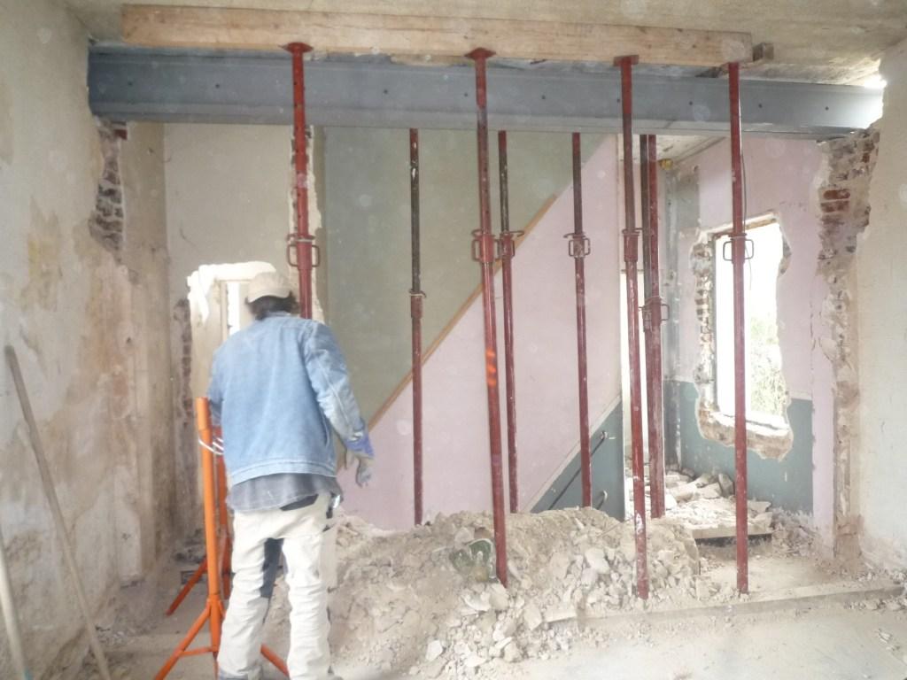 Ouverture de mur porteur paris - Faire une ouverture dans une cloison en brique ...