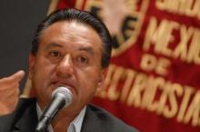 Martín Esparza, advirtió que se mantendrá en solidaridad con el magisterio en plantón del Zócalo.