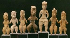 Había figuras pequeñas, grandes, vasijas, monolíticos, las Damas Bellas y Piernudas, entre otros, y todo eso, quién sabe dónde quedaron