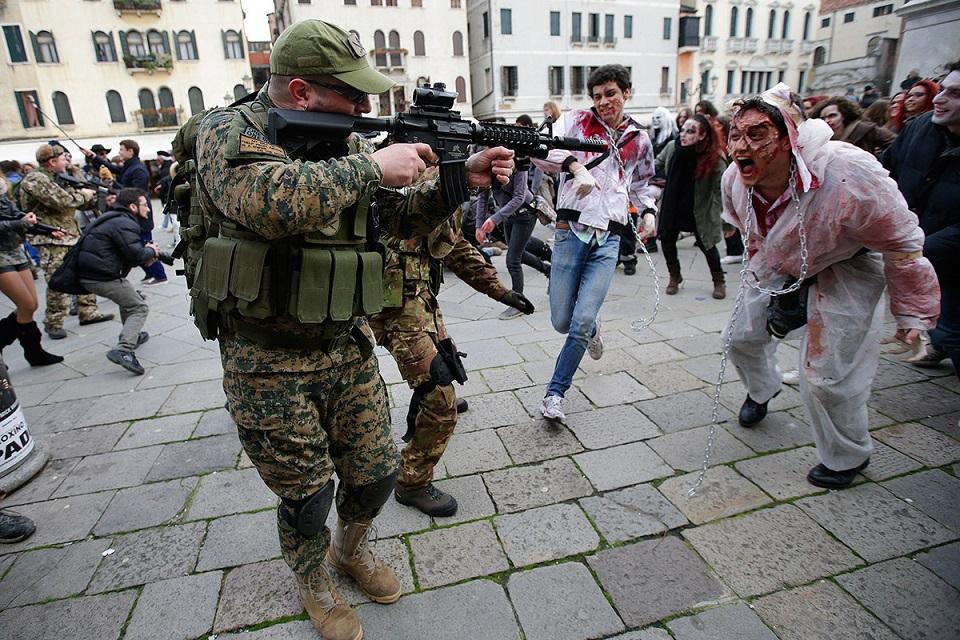 El Pentágono se prepara para un Apocalipsis Zombie