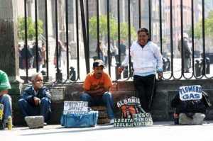 Reflejos del estancamiento económico Foto archivo