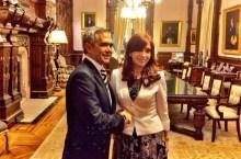 Mancera y la presidenta de Argentina, Cristina Fernández