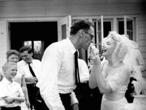 Con Joe DiMaggio