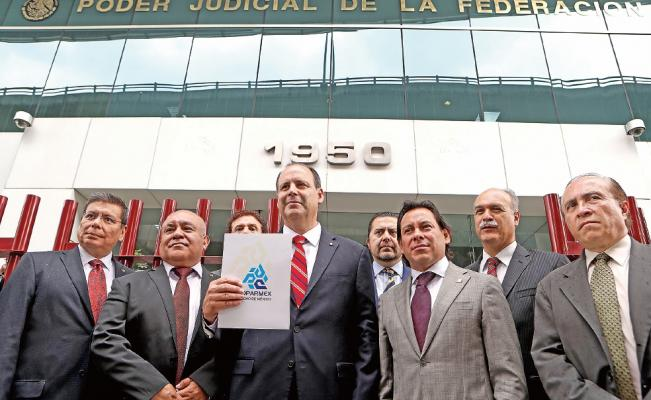 Admite juzgado amparo de Coparmex por protestas de CNTE