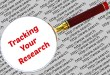 Tracking your research, reference articles, and quotes