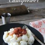 Bryndzove (or Feta) Cauliflower