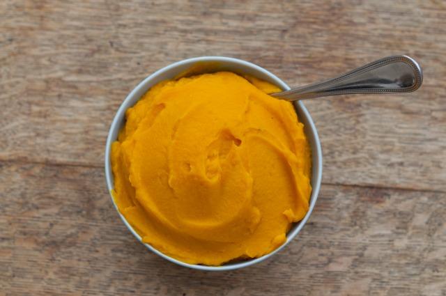 Sweet Potato Puree with Orange & Coconut