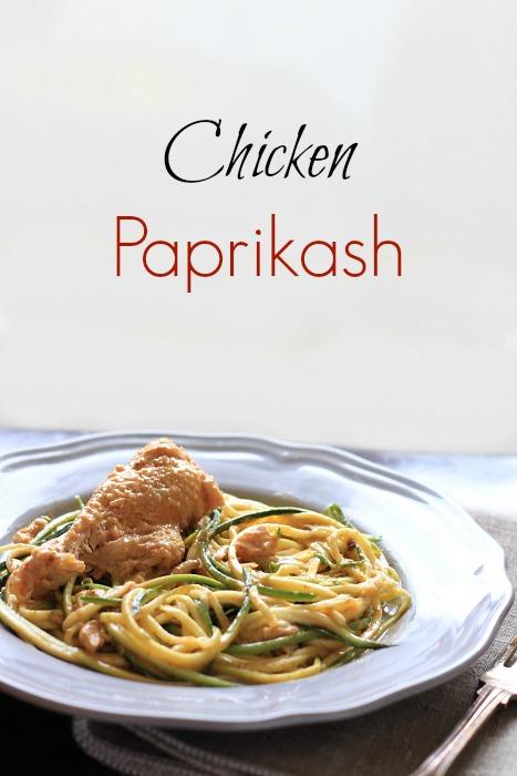 Chicken Paprkash, a Slovak comfort dish