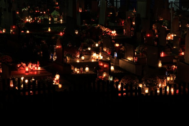 All Saints Day in Slovakia