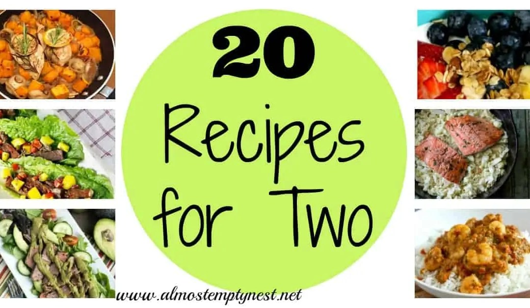 20 Recipes for Two