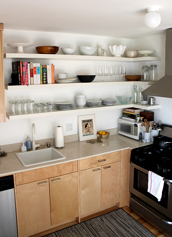 Making This Wraparound Kitchen Shelving Almost Makes Perfect