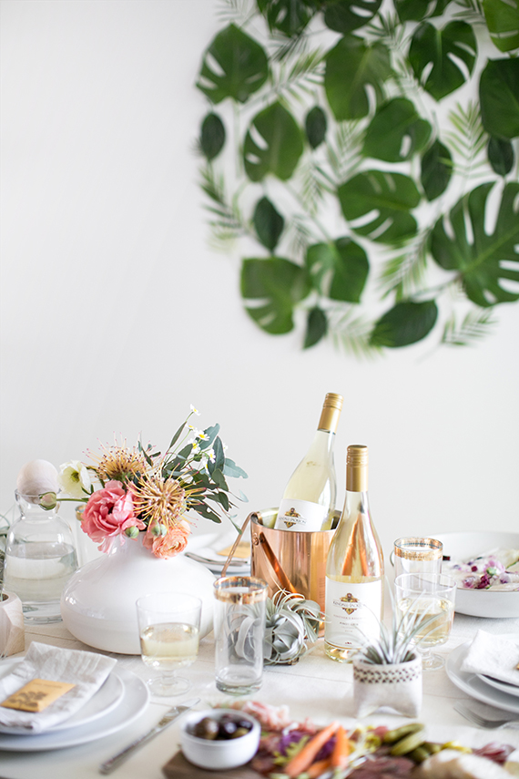 a springtime lunch party | almost makes perfect