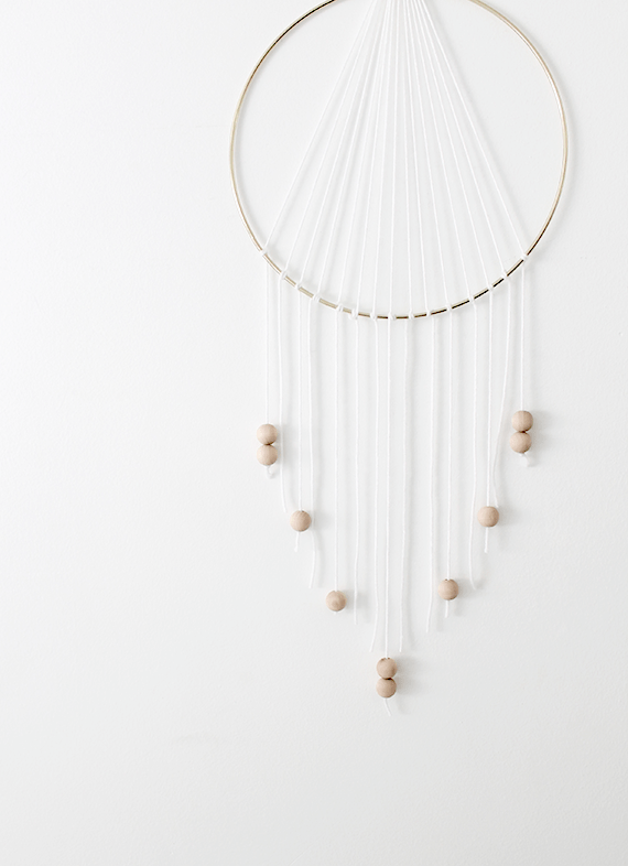 diy modern dreamcatcher | almost makes perfect