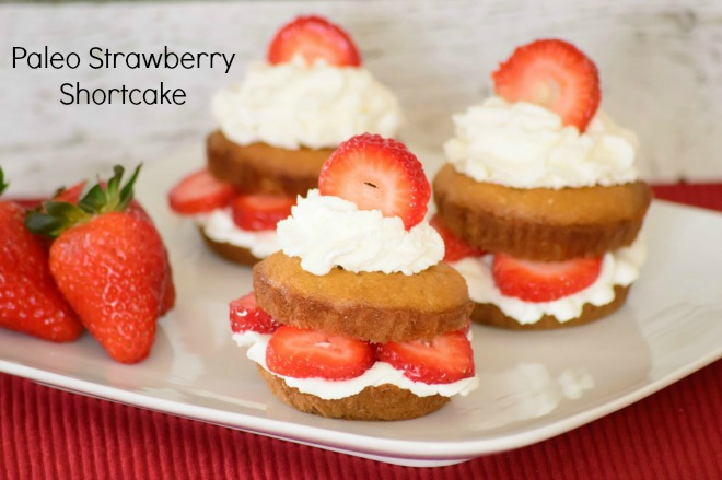 Paleo Gluten-Free Strawberry Shortcake