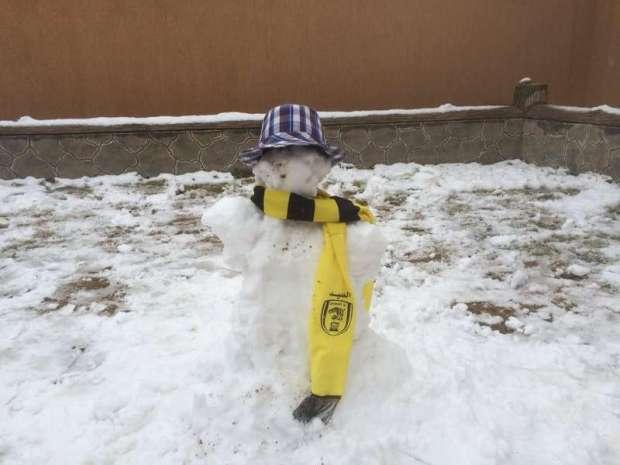 رجل الثلج الرياضي