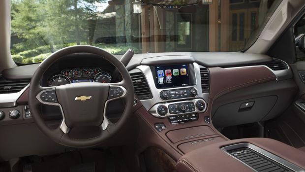انظمة الامان والسلامة المتوافرة بالسيارة شيفورلية تاهو 2016