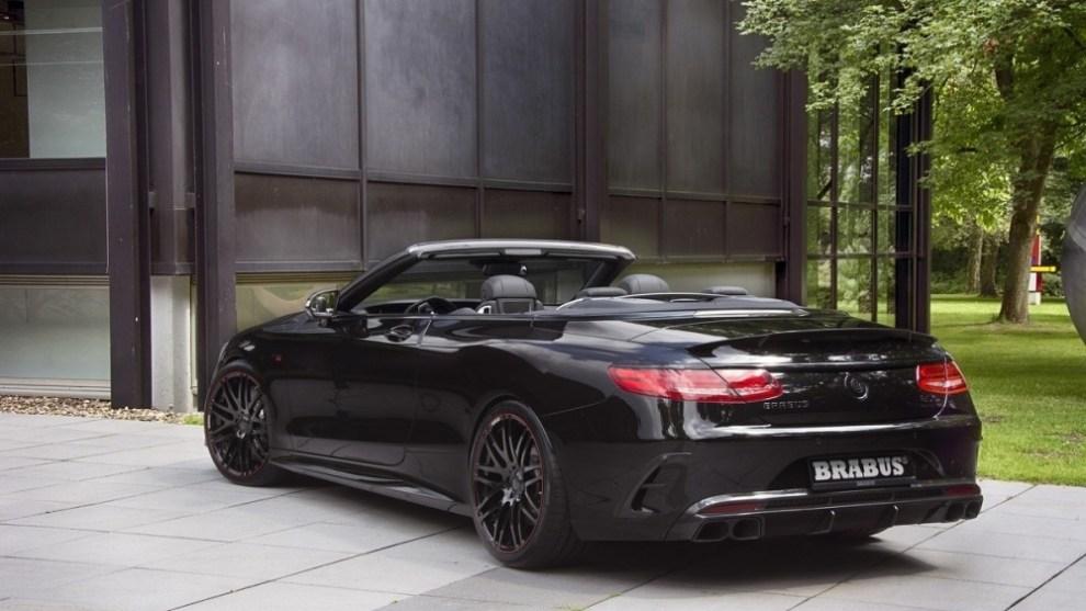التصميم الخلفي للسيارة مرسيدس S63 AMG 2016 كابروليه المعدلة