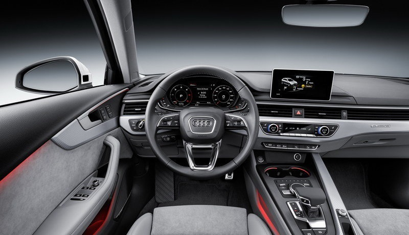 التصميم الداخلي للسيارة اودي A4 Allroad Quattro 2017