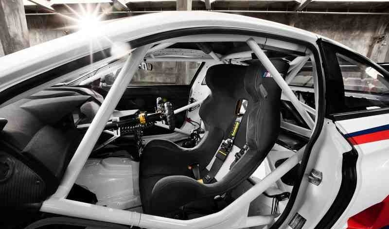 مقعد بي ام دبليو ام 6 GT3 2016