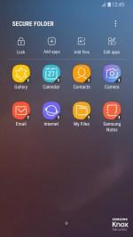 اخفاء الملفات على تطبيق Samsung Secure Folder