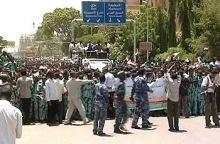 تظاهرة بالخرطوم تندد بالعدوان على غزة