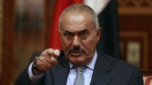 صالح يطالب الحوثيين برفع خيامهم من شوارع صنعاء