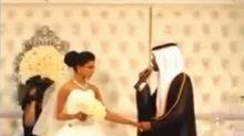 بالفيديو.. عريس كويتي يغني لعروسه ويشد انتباه 1,6 مليون مشاهد في أيام