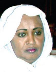 بدرية سليمان: سلطتي في الوطني أعلى من علي عثمان